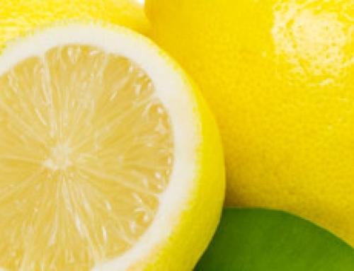 Nous allons parler aujourd'hui du citron